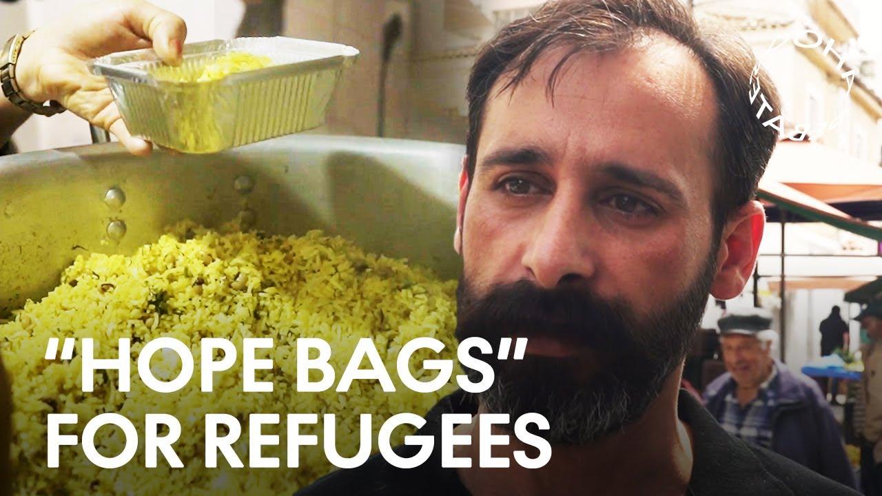 Feeding Refugees in Greece During the Coronavirus Pandemic | Doha Debates