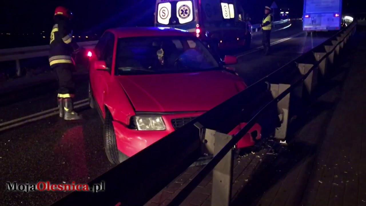 02.01.2018 Boguszyce – wypadek osobówki i autobusu
