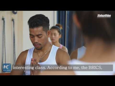 BRICS cooperation allows us to better communicate with each other: Indian yoga teacher