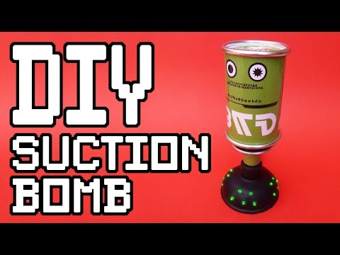 Splatoon Suction Bomb DIY