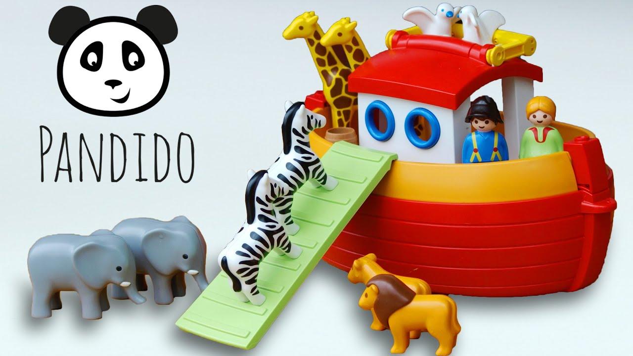 Playmobil Arca De No Armado Y Demostraci N Del Juguete