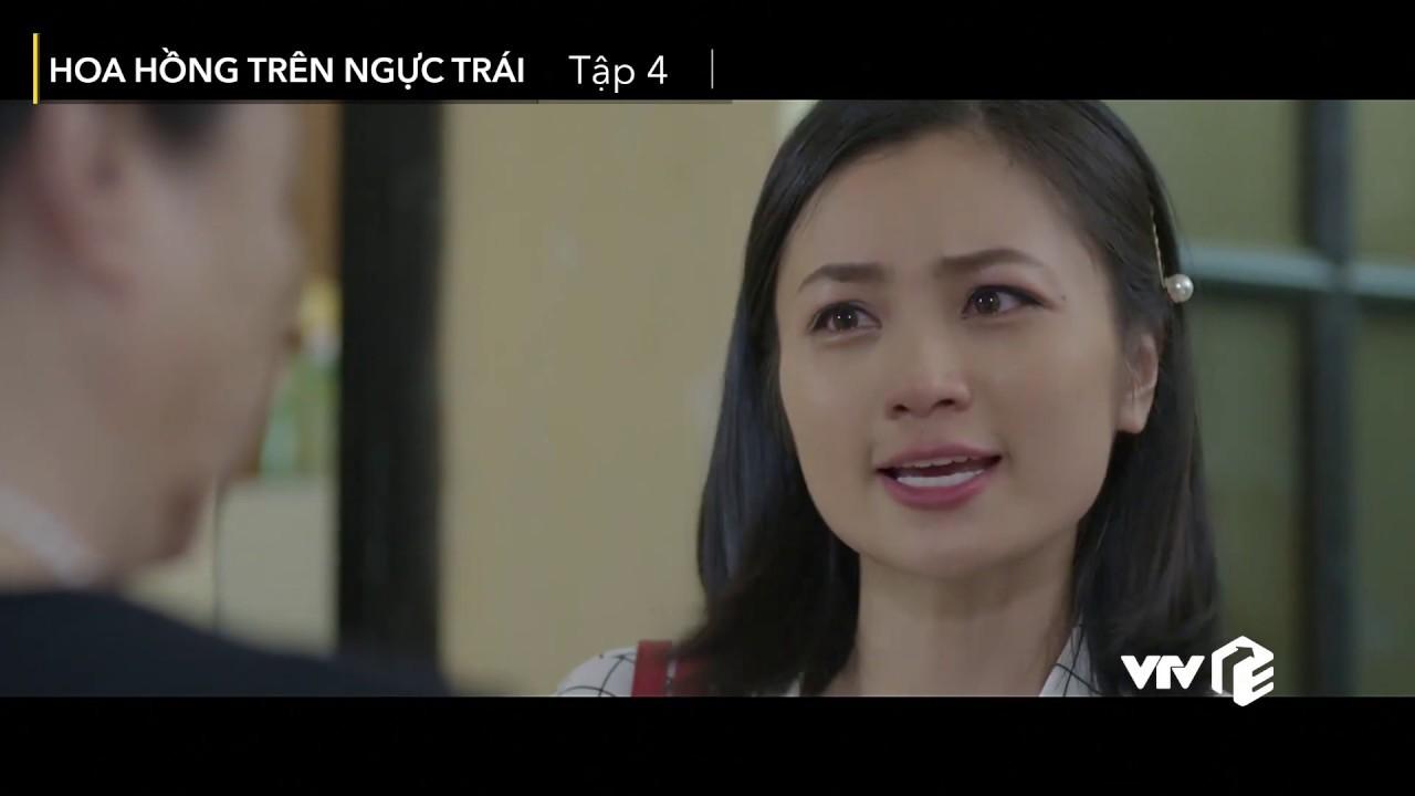 VTV Giải Trí | Hoa hồng trên ngực trái - Tập 4 | Preview | Tiểu tam lên mặt thách thức vợ sếp