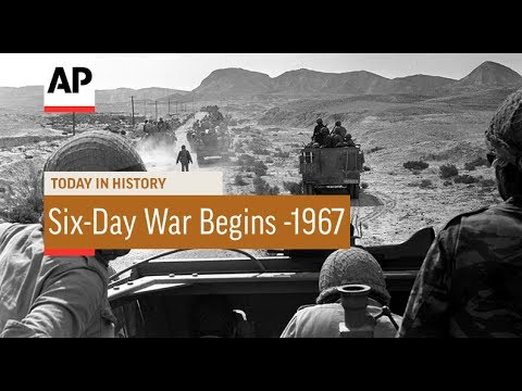 Six-Day War Begins - 1967 | Today In History | 5 June 17