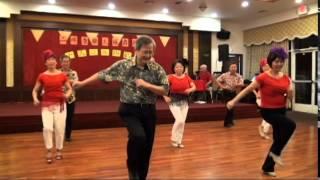 歡樂來恰恰 Happy Cha Cha line dance - Wellness Tai Chi 15th Anniversary