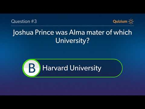 Joshua Prince Quiz   What is the name of the architecture firm of Joshua Prince? and more questions
