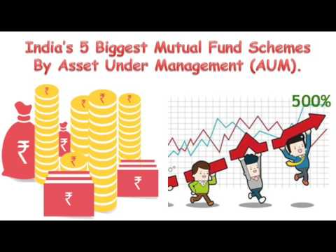 India's Top 5 Biggest Equity Schemes by Asset under Management | what is Asset Under Management