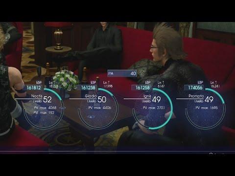 Final Fantasy 15: Come Fare Tanta Esperienza E Salire Velocemente Di Livello!