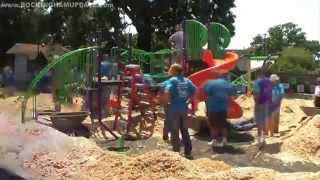 Morgan Road New Playground Build Project Video - 8-16-2014