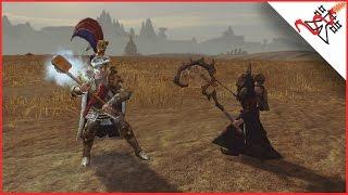 KARL FRANZ (Empire) vs NECROMANCER (Vampires) - Total War: WARHAMMER