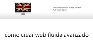 tutorial html y css   crear web fluida o flotante responsive design bsico