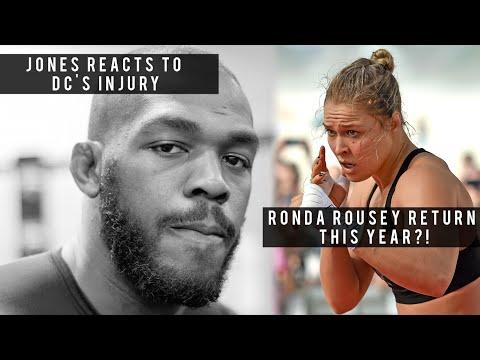 "Jon Jones Reacts To Daniel Cormier's Injury, Aldo: ""Interim Title means NOTHING!"" & Ronda's Return?"