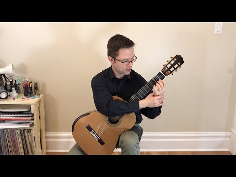Free PDF Method Lesson: Absolute Beginner Technique Routine for Classical Guitar