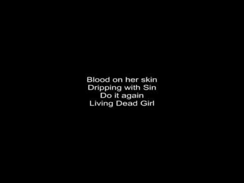 Rob Zombie - Living Dead Girl  (Lyrics) HD