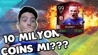 10 MİLYON MU?!? 99 ROONEY ÇIKARDIM FIFA Mobile İngiltere Kahramanları Paket Açılımı !!!