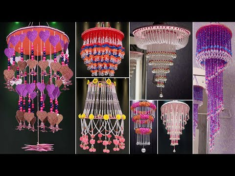 12 Chandelier Making !!! DIY Wall Hanging