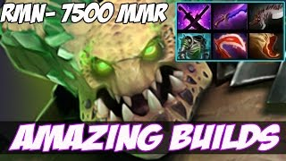 NEW HERO - Amazing Builds vol 17 - rmN- 7500 MMR Plays Underlord - Dota 2