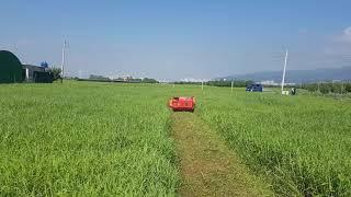 제초기 농기계 농업용 원격조종제초기 경사면 제초 무선조…
