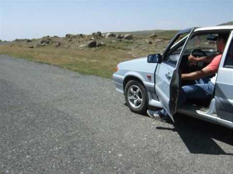 Аномальная зона в Армении, гора Арагац