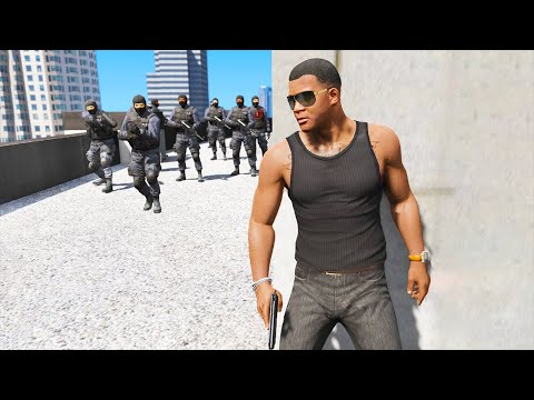 GTA 5: FIB Building Heist Mission (GTA V Epic Police Chase)