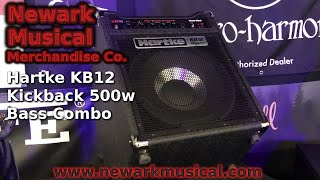 Hartke KB12 Kickback 500w Bass Combo Amplifier