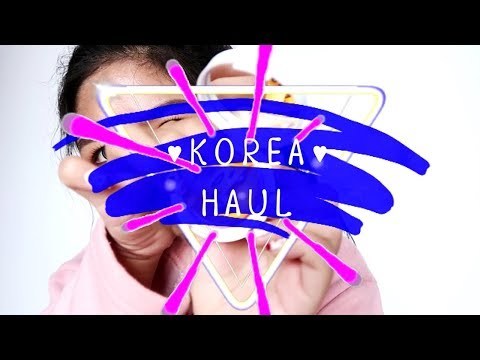 Korea HAUL 🇰🇷 เห่อของที่ชุปปิ้งมาจาก เกาหลี!