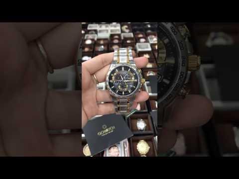 Citizen Eco-Drive Men's AT4004-52E Chronograph Two-Tone Perpetual Calendar Watch