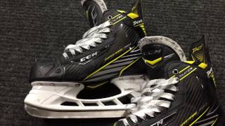 CCM Super Tacks skates with Tuuk holders (review)