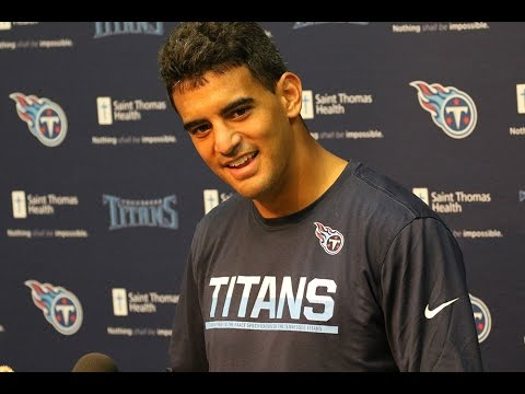 Marcus Mariota on Being Back with Teammates