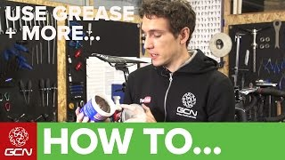 How & Where To Use Grease, Fiber Grip, Threadlock + Anti Seize On Your Bike