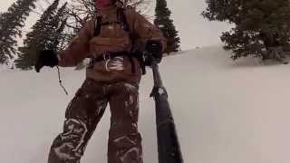 Y Not After The Wind Hold Jackson Hole Sidecountry Snowboarding 2015 Thumbnail