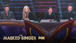 The Panel Reacts To The Monster | Season 1 Ep. 3 | THE MASKED SINGER