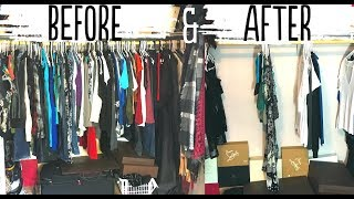 CLOSET PURGE: Physical + Emotional Work (Spring Cleaning)