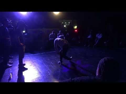 R100[6] Bboy Bruce vs Bgirl Snap