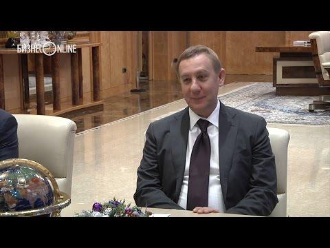 Рустам Минниханов встретился с зампредом банка ВТБ 24