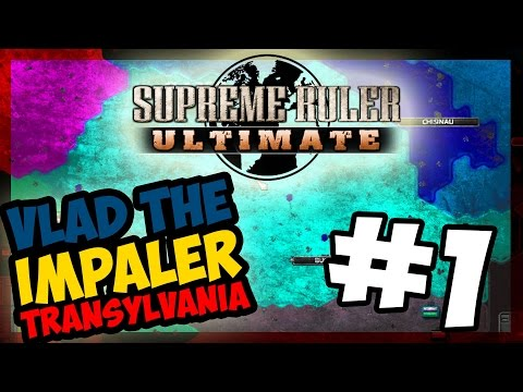 VLAD IS BACK | Supreme Ruler Ultimate - TRANSYLVANIA - Ep.1 |
