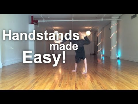 Yoga for Beginners - Handstands Made Easy!!