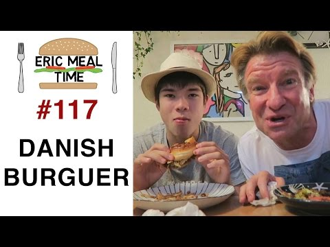 Cooking a Danish Burger - Eric Meal Time #117