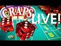 40-Minutes Live Craps UNEDITED 🎲 Live Craps Game 🎲Live Bubble Craps Machine Winning Craps Strategy