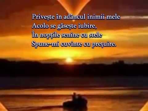 Adâncul inimii mele Versuri Răzvan Gabriel Stoica Muzică Dan Lucian Corb