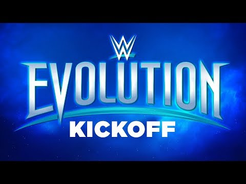 WWE Evolution Kickoff: October 28, 2018