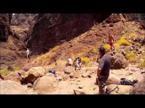 Tenerife Amazing Hike Masca Gorge Valley June 2015 HD