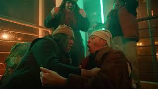 Григорий Лепс на съемках клипа Филиппа Киркорова Цвет настроения синий