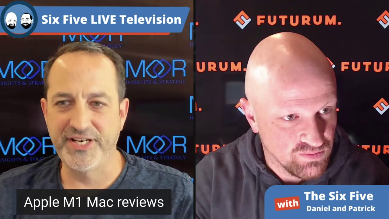 Apple New MacBook M1 Reviews - Six Five Podcast Episode 59