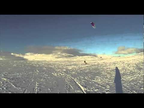 SPIN Boardsprts Snowkiten Noorwegen - Haugastøl