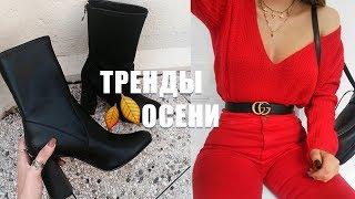 ТРЕНДЫ ОСЕНИ / Что я ношу этой осенью /Наряды Дешево и Стильно с примеркой