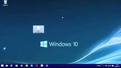 Windows 10 Desktop Anzeigen an die Taskleiste anheften