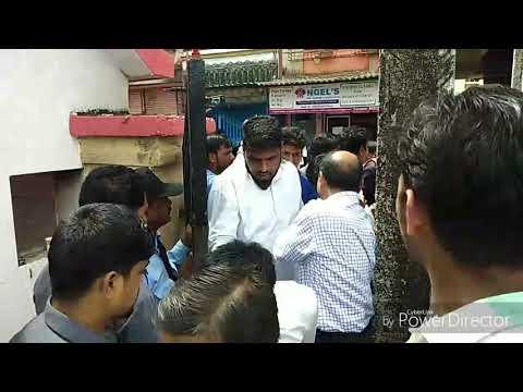Manoj maharana | Thane NSUI Protest against Tilak college Ghansoli