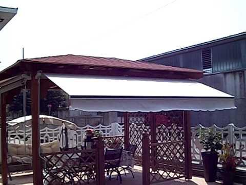 Tende Da Sole Patio : Tende da sole tempotest parà su gazebo in legno