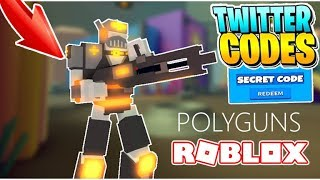 *ARCADE* + SECRET CODE | POLYGUNS ROBLOX!