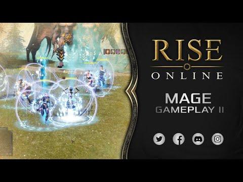 Rise Online World - Mage Gameplay II [4K]